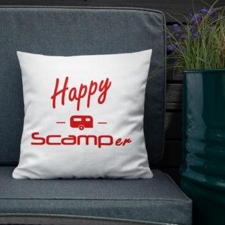 Happy Scamper Pillow