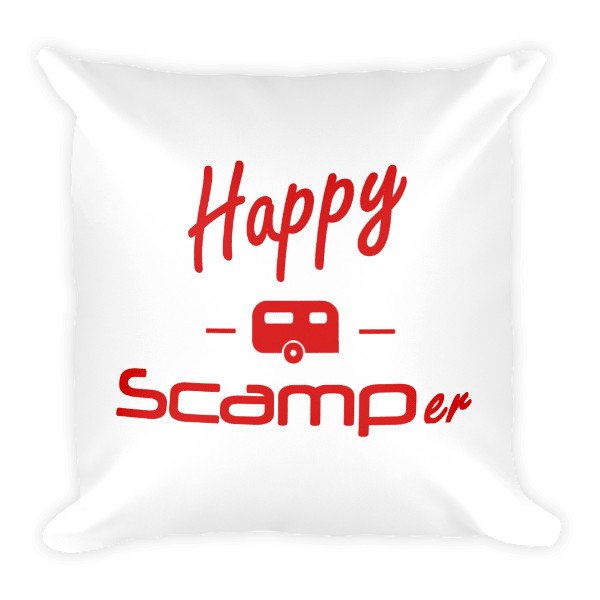 Happy Scamper Pillow