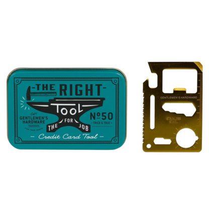 Wild & Wolf Gentlemen's Hardware Credit Card Tool