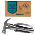Wild and Wolf Gentlemen's Hardware Hammer and Plier Multi-Tool
