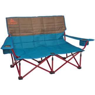 Kelty Low Loveseat Chair in Deep Lake and Fallen Rock