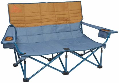 Kelty Low Loveseat Chair in Tapestry Canyon Brown
