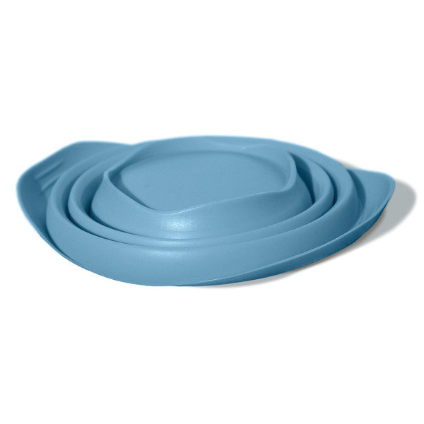 Kurgo Collaps a Bowl Pet Travel Bowl Collapsed in Kurgo Blue