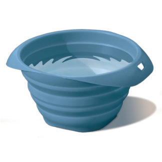 Kurgo Collaps a Bowl Pet Travel Bowl in Kurgo Blue