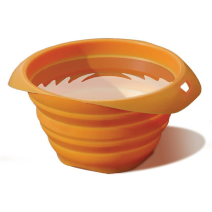Kurgo Collaps a Bowl Pet Travel Bowl in Orange