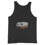 Vintage Shasta Tank in Charcoal Black