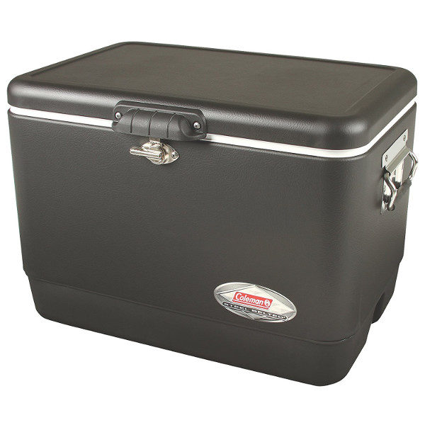 Coleman Retro Steel-Belted Cooler in Black