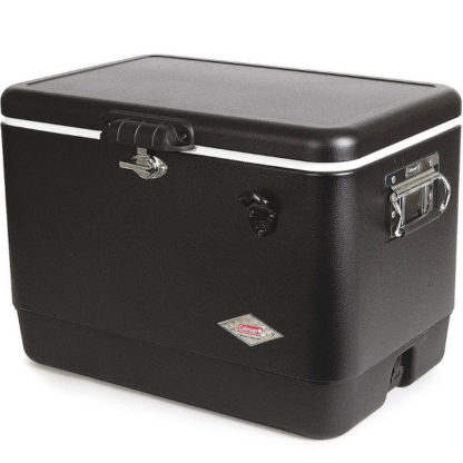 Coleman Retro Steel-Belted Cooler in Dark Black