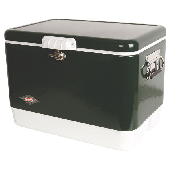 Coleman Retro Steel-Belted Cooler in Green