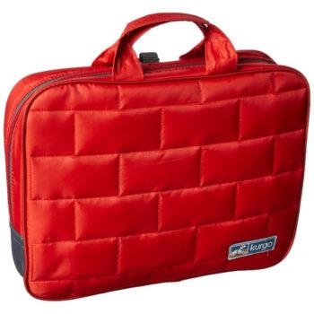 Kurgo Loft Hammock folded in Red