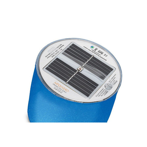 Luci Color Inflatable Solar Light solar detail