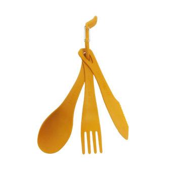 Sea to Summit Delta Cutlery Set in Orange