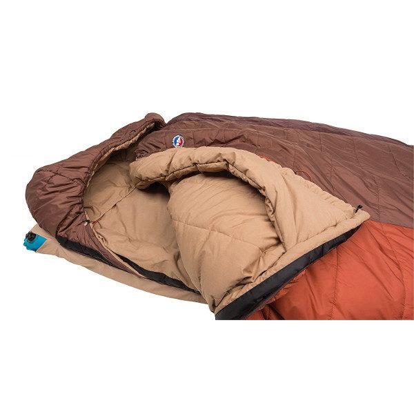 Big Agnes Dream Island 15 Double Sleeping Bag close up