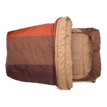 Big Agnes Dream Island 15 Double Sleeping Bag open