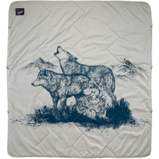 Thermarest Argo Blanket in Wolf Print