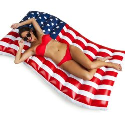 American Flag Float Lounger