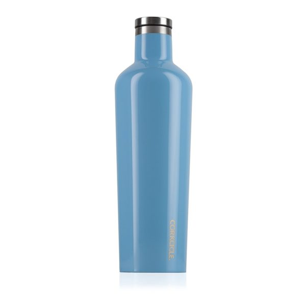 Corkcicle Classic Canteen in Gloss Blue Skies