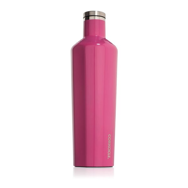 Corkcicle Classic Canteen in Gloss Pink