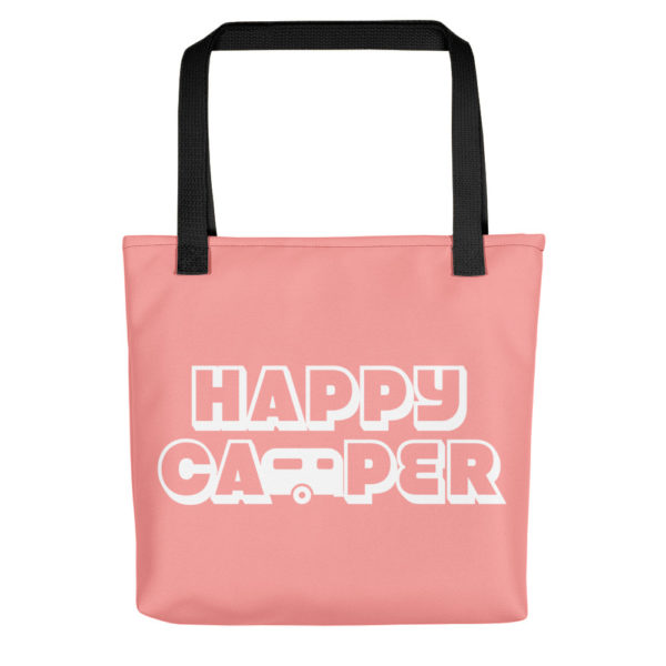 Happy Camper Tote in Pretty in Pink