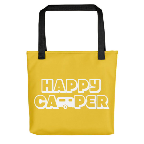 Happy Camper Tote in Sunshine