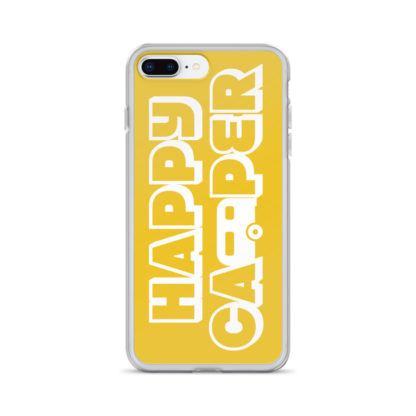 Happy Camper iPhone case for 7 Plus and 8 Plus in Sunshine