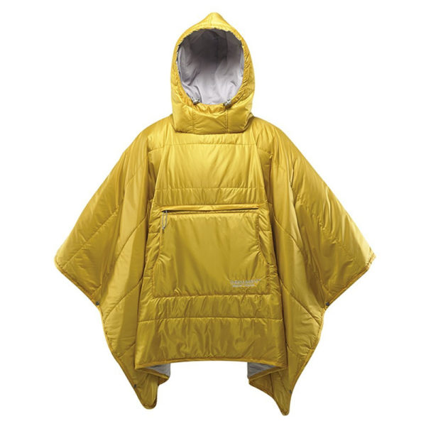 Therm-a-Rest Honcho Poncho in Lemon Curry