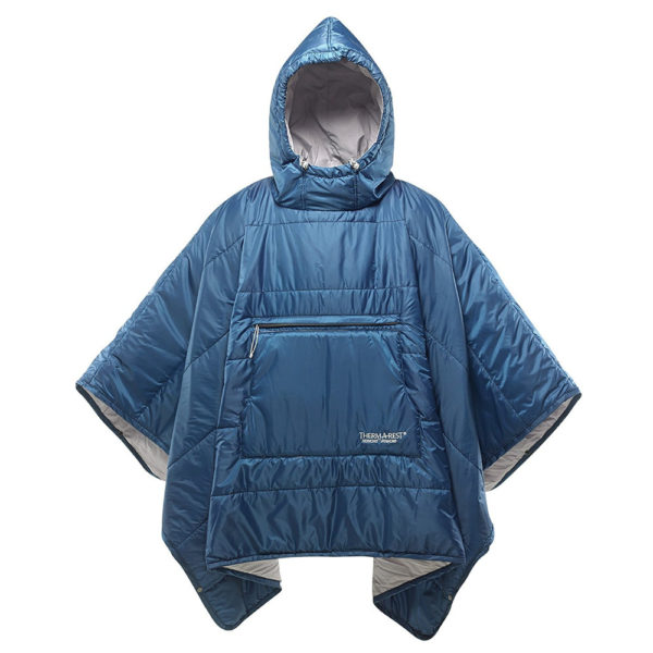 Therm-a-Rest Honcho Poncho in Poseiden Blue