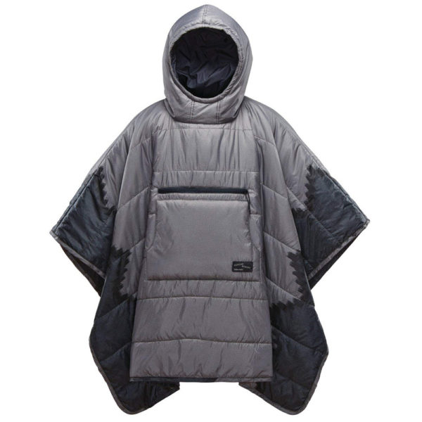 Therm-a-Rest Honcho Poncho in Slate Print