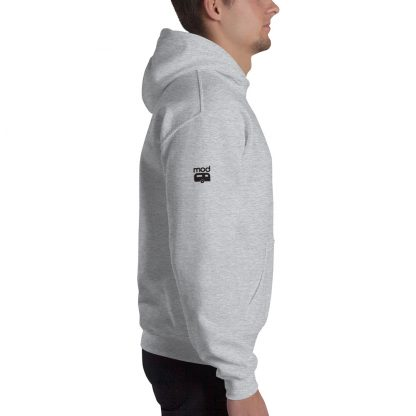 Extra Thick Unisex Hoodie side view