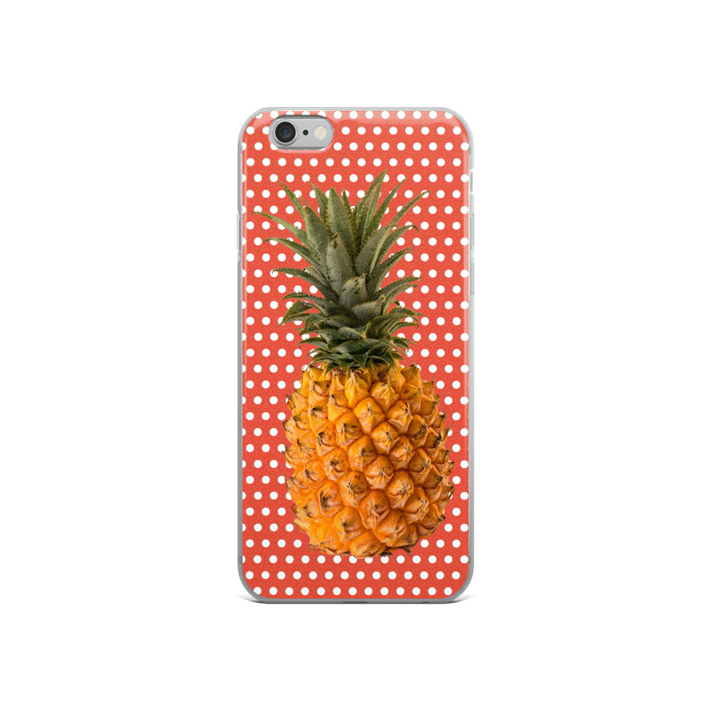 Pineapple & Polka Dots Phone Case