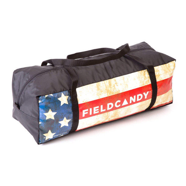 FieldCandy Old Glory American Flag Tent carry bag