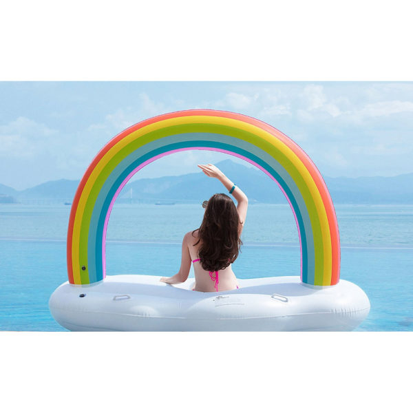 Rainbow Cloud Float Lounger