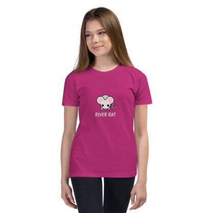 River Rat Kids Tshirt in Berry