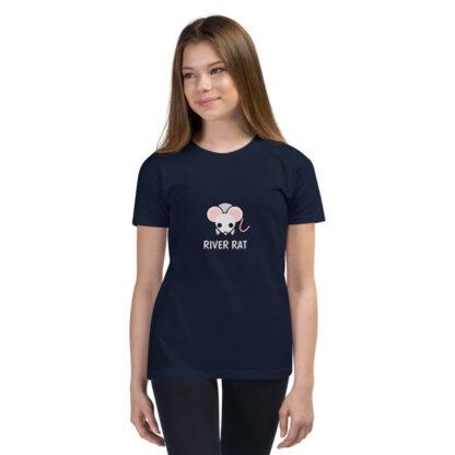 River Rat Kids Tshirt in Navy