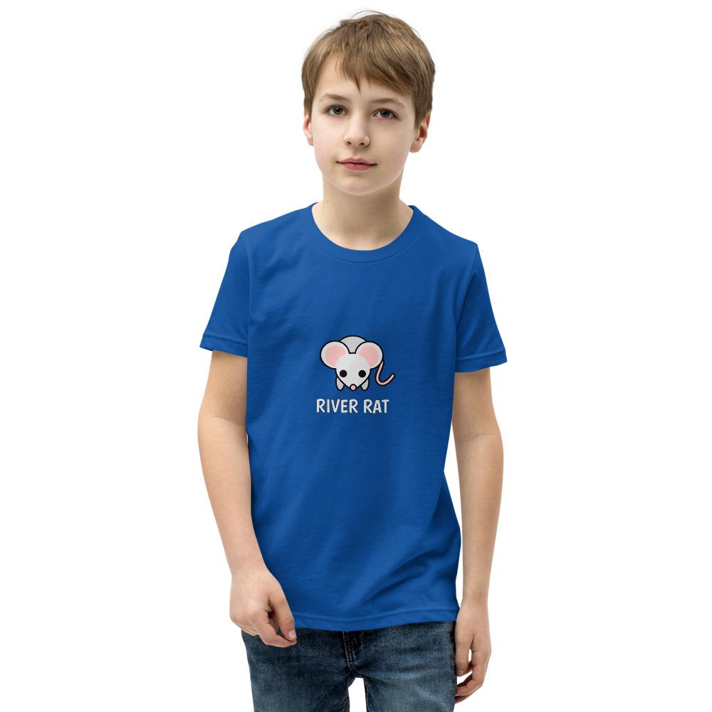 River Rat Kids Tshirt in Royal Blue