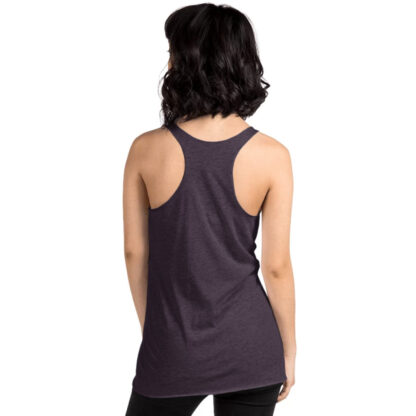 Racerback tank back view