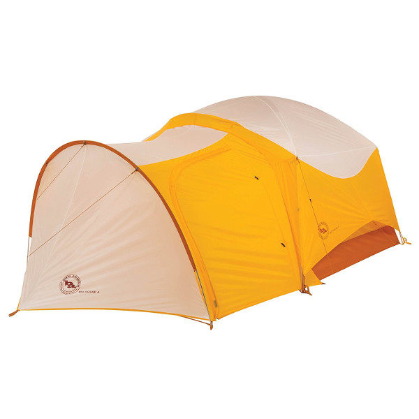 Big Agnes Big House Deluxe Tent Vestibule with door closed