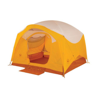 Big Agnes Big House Deluxe Tent in Gold and White