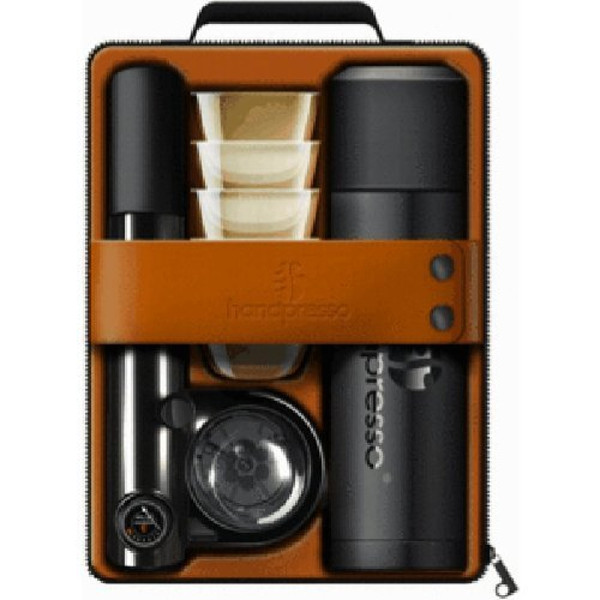 Handpresso Pump Espresso Machine Travel Set in Black