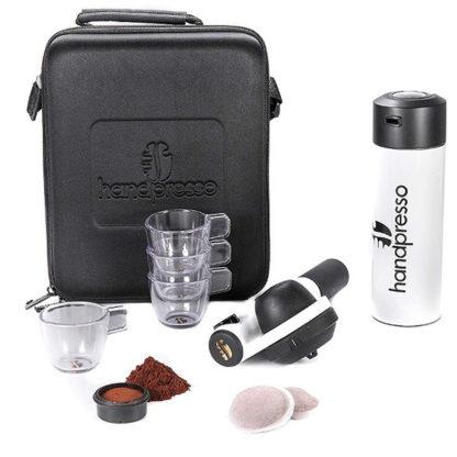 Handpresso Pump Espresso Machine Travel Set unpacked