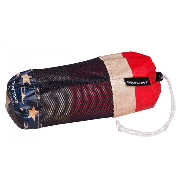 FieldCandy American Flag Unisex Rain Poncho carry bag