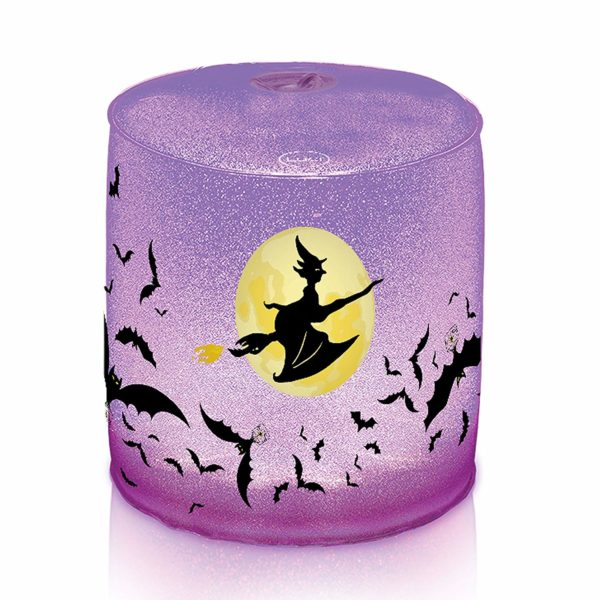 MPOWERD Luci Spooky Witchy Moon Inflatable Solar Light