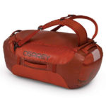 Osprey Transporter 65 Expedition Duffel in Ruffian Red