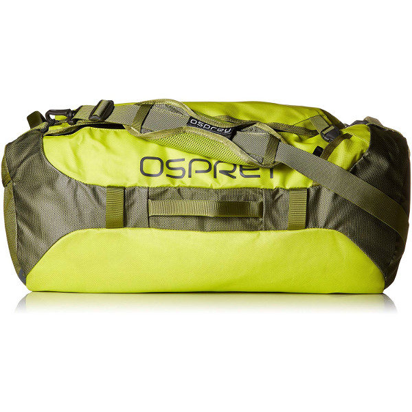 Osprey Transporter 65 Expedition Duffel in Sub Lime