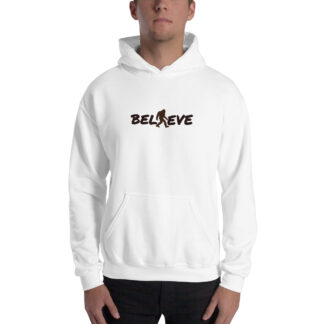 Believe Extra Thick Unisex Hoodie in White