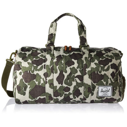 Herschel Novel Duffel Bag in Frog Camo