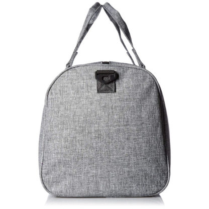 Herschel Novel Duffel Bag in Raven Crosshatch side view