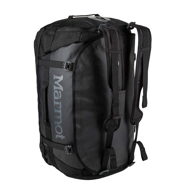 Marmot Long Hauler Duffel Bag in Black size Large