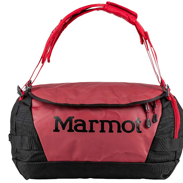 Marmot Long Hauler Duffel Bag in Brick Black size Small