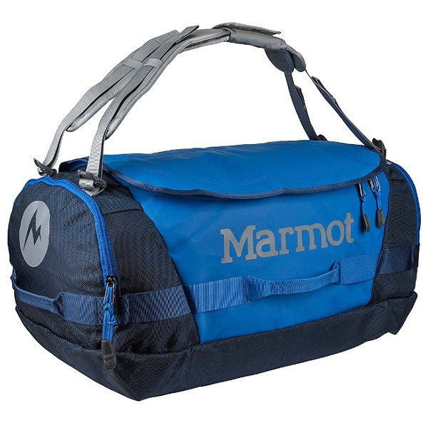 Marmot Long Hauler Duffel Bag in Peak Blue Vintage Navy size Medium